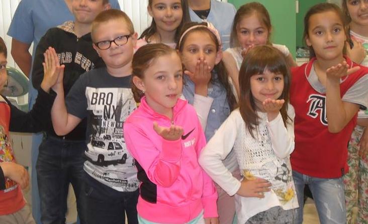 Заедно с децата от учебен център